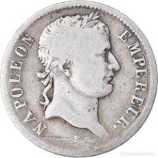 Monedas antiguas de Europa: MONEDA, FRANCIA, NAPOLÉON I, FRANC, 1808, PARIS, BC+, PLATA, KM:682.1. Lote 221882531