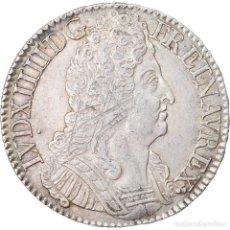 Monedas antiguas de Europa: MONEDA, FRANCIA, LOUIS XIV, ÉCU AUX 3 COURONNES, ECU, 1715, PARIS, MBC, PLATA. Lote 221882917