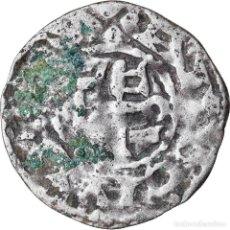 Monedas antiguas de Europa: MONEDA, FRANCIA, ANJOU, FOULQUES IV, DENARIUS, ANGERS, BC+, PLATA, BOUDEAU:152. Lote 221887393