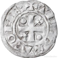 Monedas antiguas de Europa: MONEDA, FRANCIA, CHAMPAGNE, THIBAUT II, DENARIUS, PROVINS, MBC, PLATA. Lote 221888702