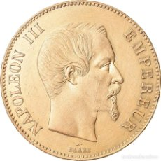 Monedas antiguas de Europa: MONEDA, FRANCIA, NAPOLEON III, NAPOLÉON III, 100 FRANCS, 1858, PARIS, EBC+. Lote 221888705