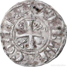 Monedas antiguas de Europa: MONEDA, FRANCIA, CHAMPAGNE, THIBAUT II, DENARIUS, PROVINS, MBC, PLATA. Lote 221888978