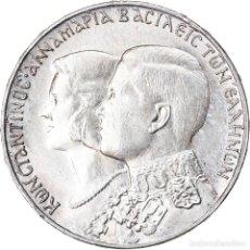 Monedas antiguas de Europa: MONEDA, GRECIA, CONSTANTINE II, 30 DRACHMAI, 1964, EBC, PLATA, KM:87. Lote 221949205