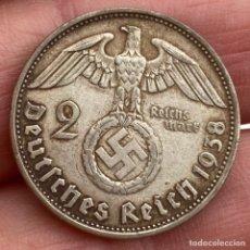 Monedas antiguas de Europa: 2 MARCOS 1938 B ALEMANIA MONEDA DE PLATA 8 G LEY 625. Lote 221949995