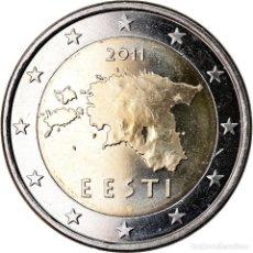 Monedas antiguas de Europa: ESTONIA, 2 EURO, 2011, BU, FDC, BIMETÁLICO, KM:68. Lote 221950291