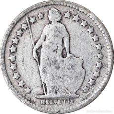 Monedas antiguas de Europa: MONEDA, SUIZA, 1/2 FRANC, 1920, BERN, BC, PLATA, KM:23. Lote 221950297