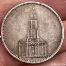 Monedas antiguas de Europa: 5 MARCOS 1934 A ALEMANIA MONEDA DE PLATA 13,88 G LEY 900. Lote 221950970