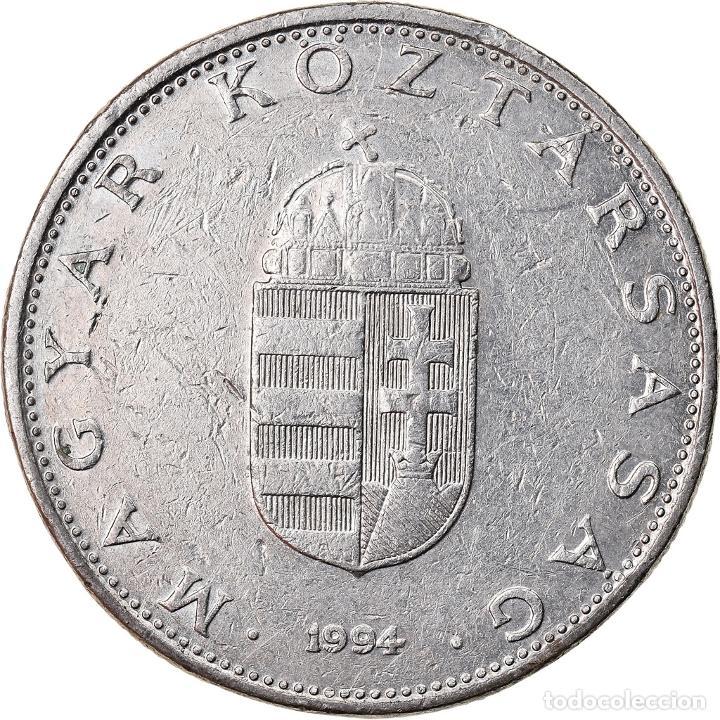 MONEDA, HUNGRÍA, 10 FORINT, 1994, BC+, COBRE - NÍQUEL, KM:695 (Numismática - Extranjeras - Europa)
