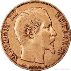 Monedas antiguas de Europa: MONEDA, FRANCIA, NAPOLEON III, NAPOLÉON III, 20 FRANCS, 1856, STRASBOURG, RARE. Lote 221983568