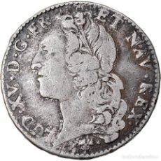 Monedas antiguas de Europa: MONEDA, FRANCIA, LOUIS XV, 1/2 ÉCU AU BANDEAU, 1/2 ECU, 44 SOLS, 1761, BAYONNE. Lote 221983641