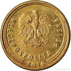 Monedas antiguas de Europa: MONEDA, POLONIA, GROSZ, 2016, MBC, LATÓN. Lote 221986146