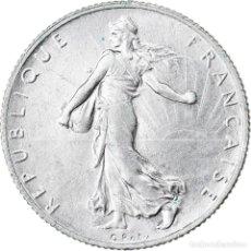 Monedas antiguas de Europa: MONEDA, FRANCIA, SEMEUSE, 2 FRANCS, 1916, PARIS, MBC+, PLATA, KM:845.1. Lote 221986276