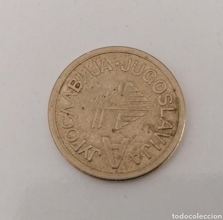 Monedas antiguas de Europa: YUGOSLAVIA. MEGAPLAST. FICHA METALICA SIN VALOR FACIAL. - Foto 2 - 221988368