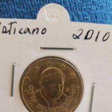 Monedas antiguas de Europa: VATICANO 50 CENTS IMPECABLE. Lote 222043687