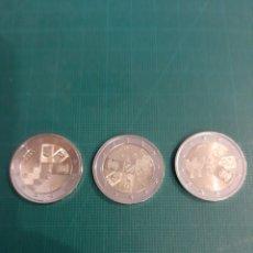 Monedas antiguas de Europa: 2018 ESTADOS BAKTICOS ESTONIA LITUANIA LETONIA 2 EUROS NUMISMÁTICA COLISEVM LUGO. Lote 222060851