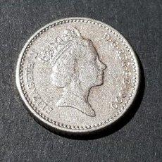 Monedas antiguas de Europa: GRAN BRETAÑA 5 PENCE DE 1990 ( ELIZABETH II ). Lote 222230275
