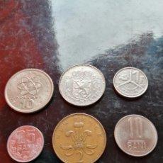 Monedas antiguas de Europa: 6 MONEDAS VARIAS EUROPA.. Lote 222242285