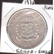 Monedas antiguas de Europa: MONEDA DE EUROPA SAMOA PARECE PLATA DE 1972. Lote 222333010