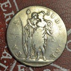 Monedas antiguas de Europa: ITALIA - GALIA SUBALPINE - 5 FRANCS AN 9 1801/1802. Lote 222535158