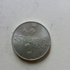 Monedas antiguas de Europa: MONEDA PORTUGAL 1974.-100 ESCUDOS EN PLATA.. Lote 222570872