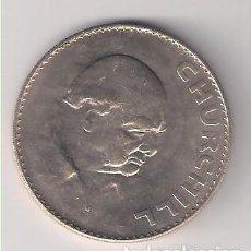 Monedas antiguas de Europa: MONEDA DE CORONA (CROWN) DE INGLATERRA DE 1965. CUPRO-NÍQUEL. EBC. CATÁLOGO WORLD COINS-910 (ME1060). Lote 222587898