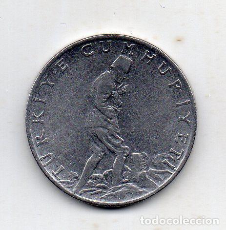 TURQUIA. 2.50 LIRAS. AÑO 1963 (Numismática - Extranjeras - Europa)