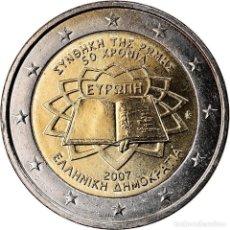 Monedas antiguas de Europa: GRECIA, 2 EURO, 2007, SC, BIMETÁLICO, KM:216. Lote 222721670