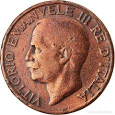 Monedas antiguas de Europa: MONEDA, ITALIA, VITTORIO EMANUELE III, 10 CENTESIMI, 1928, ROME, MBC, BRONCE. Lote 222721797