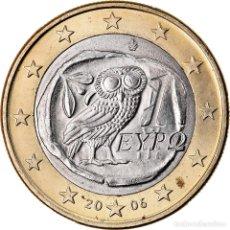 Monedas antiguas de Europa: GRECIA, EURO, 2006, MBC+, BIMETÁLICO, KM:187. Lote 222721798