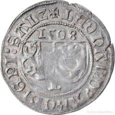 Monedas antiguas de Europa: MONEDA, ESTADOS ALEMANES, LEONHARD VON KEUTSCHACH, BATZEN, 1508, SALZBURG, MBC. Lote 222721921