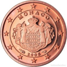 Monedas antiguas de Europa: MÓNACO, EURO CENT, 2006, PROOF, FDC, COBRE CHAPADO EN ACERO, KM:188. Lote 222722330