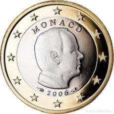 Monedas antiguas de Europa: MÓNACO, EURO, 2006, PROOF, FDC, BIMETÁLICO, KM:184. Lote 222722413