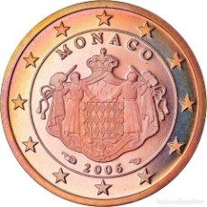 Monedas antiguas de Europa: MÓNACO, 2 EURO CENT, 2006, PROOF, FDC, COBRE CHAPADO EN ACERO, KM:189. Lote 222722491