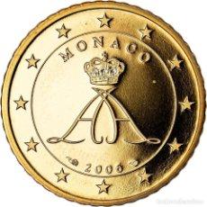 Monedas antiguas de Europa: MÓNACO, 50 EURO CENT, 2006, PROOF, FDC, LATÓN, KM:183. Lote 222722568