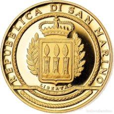 Monedas antiguas de Europa: SAN MARINO, 50 EURO, 2002, FDC, ORO, KM:461. Lote 222722767