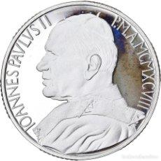 Monedas antiguas de Europa: MONEDA, CIUDAD DEL VATICANO, JOHN PAUL II, 10000 LIRE, 1998, ROMA, FDC, PLATA. Lote 222744220