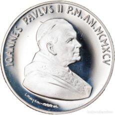 Monedas antiguas de Europa: MONEDA, CIUDAD DEL VATICANO, JOHN PAUL II, 10000 LIRE, 1995, ROMA, FDC, PLATA. Lote 222744456