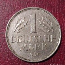 Monedas antiguas de Europa: 1 MARCO 1956 CECA J ALEMANIA. Lote 222747750
