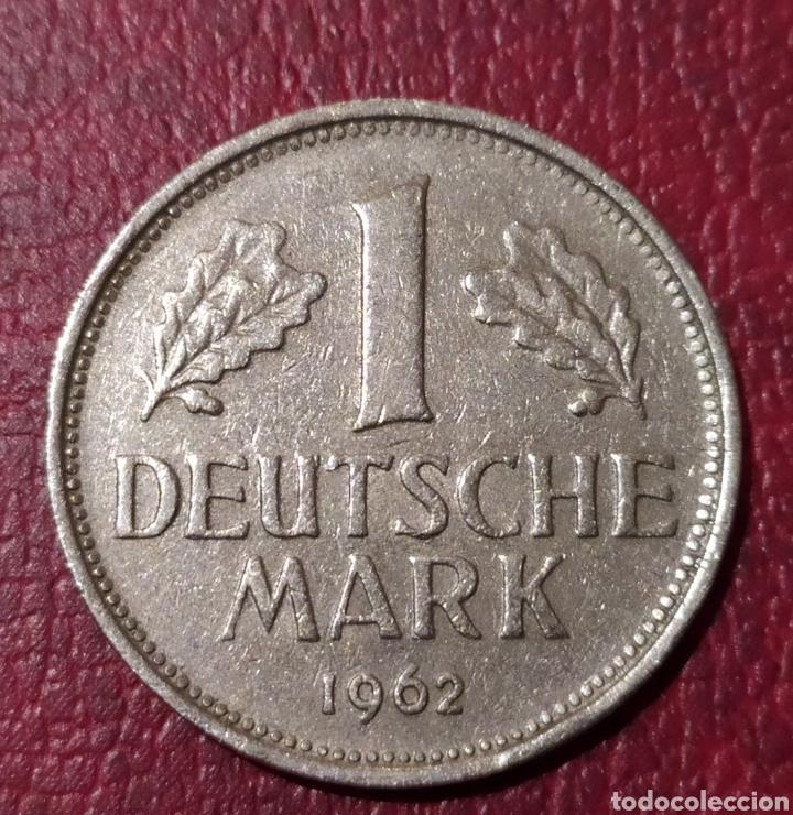 1 MARCO 1962 CECA F ALEMANIA (Numismática - Extranjeras - Europa)