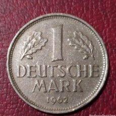Monedas antiguas de Europa: 1 MARCO 1962 CECA F ALEMANIA. Lote 222748185