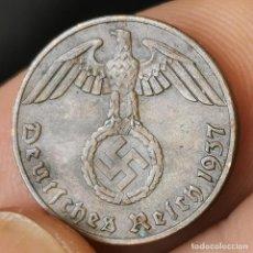 Monedas antiguas de Europa: ALEMANIA NAZI III REICH. 1 REICHSPFENNIG 1937A (01). Lote 222791518