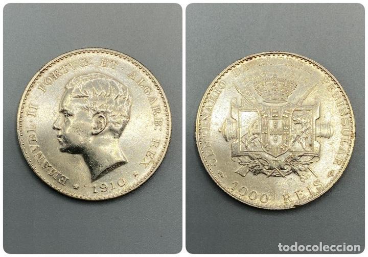 MONEDA. PORTUGAL. EMANUEL II. 1000 REIS. 1891. EBC+. VER FOTOS (Numismática - Extranjeras - Europa)