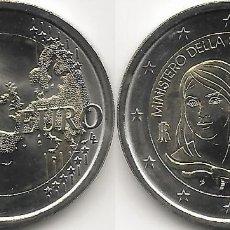 Monedas antiguas de Europa: ITALIA 2 EUROS 2018 MINISTERIO DE SALUD SC. Lote 263206725