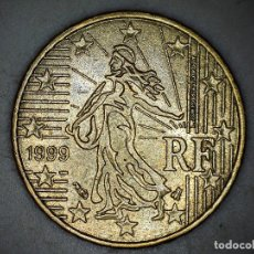 Monnaies anciennes de Europe: 10 CENTIMOS CENT EURO FRANCIA 1999 CIRCULADA - MONEDAS USADAS. Lote 223861391