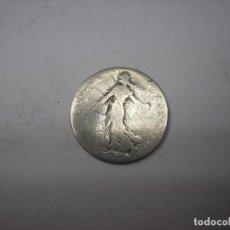Monedas antiguas de Europa: FRANCIA, 50 CENTIMOS DE PLATA DE 1898. REPUBLICA. Lote 223909308