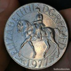 Monete antiche di Europa: AA015. COMMEMORATIVA. GRAN BRETAÑA. 25 PENCE 1977. Lote 223930013