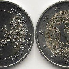Monedas antiguas de Europa: FRANCIA 2 EUROS 2016 EUROCOPA DE FÚTBOL SC. Lote 263207125