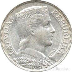 Monedas antiguas de Europa: LETONIA. 5 LATI. 1.931. Lote 39991328