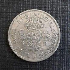 Monedas antiguas de Europa: REINO UNIDO JORGE VI TWO SHILLINGS 1950 KM878. Lote 224394442