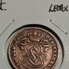 Monete antiche di Europa: MONEDA BÉLGICA. 2 CÉNTIMOS 1905. KM#35. Lote 224668802